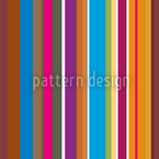 Colorful Stripes Seamless Vector Pattern Design