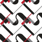 Bauhaus Repeating Pattern