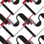 Bauhaus Design de padrão vetorial sem costura