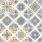 Portuguese Tile Seamless Vector Pattern Design