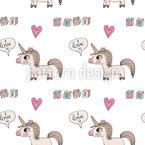 Cute Unicorn Repeat Pattern