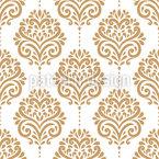 Répétition florale Motif Vectoriel Sans Couture