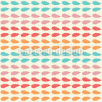 Feather Stripes Repeat Pattern