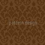 Barbra Design de padrão vetorial sem costura
