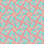Pixel éléments Motif Vectoriel Sans Couture