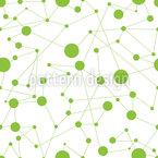 Die Punkte Verbinden Nahtloses Vektormuster