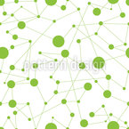 Joining The Dots Seamless Vector Pattern Design