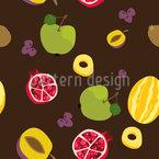 Es Regnet Früchte Rapportiertes Design