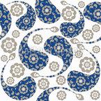 Yang Paisley Muster Design