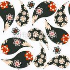 Japanischer Paisley Musterdesign