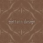 Renaissance en marron Motif Vectoriel Sans Couture