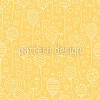 Festive Balloons Seamless Vector Pattern Design