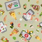 食の未来 シームレスなベクトルパターン設計