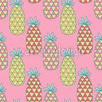 Fancy Pineapples Vector Design