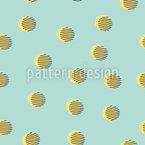 Memphis Mittag Muster Design