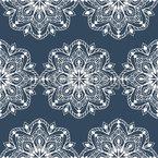 Spitzen Symmetrie Musterdesign