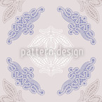 Fancy Lace Seamless Vector Pattern Design