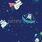 Supermeow Repeating Pattern