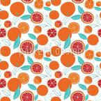 Ripe Oranges Pattern Design