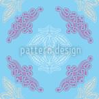 Spitzen Ida Blau Musterdesign