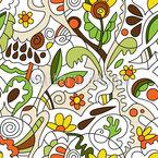 Giardini Luoghi disegni vettoriali senza cuciture