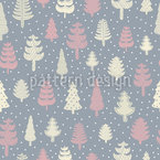 Walk In The Winter Forest Pattern Design