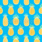 Pineapple Drawings Pattern Design