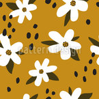 Stylish Flowers Repeating Pattern