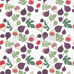 Fig Time Seamless Vector Pattern Design