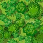Waldlandschaft Nahtloses Vektormuster