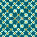 Östliches Gitter Muster Design