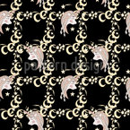 Dreaming Unicorns Seamless Vector Pattern Design
