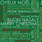 Christmas Greetings Pattern Design