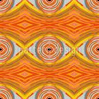 Ethno Olhos Design de padrão vetorial sem costura