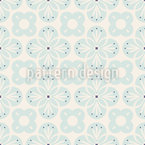 Floral Retro Style Seamless Vector Pattern