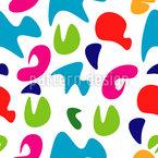 Pop Art Silhouettes Seamless Vector Pattern Design