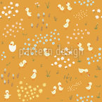 Funny Ducklings Repeating Pattern