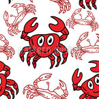 Krabbe Vektor Design