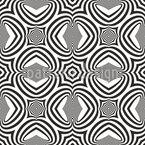 Hypnotische Formen Nahtloses Vektormuster