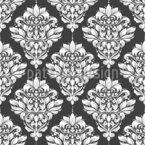 Damascos Florais Design de padrão vetorial sem costura