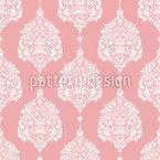 Cocoon Damasks Seamless Vector Pattern Design