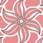 Stern Blumen Musterdesign