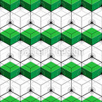Isometric Hexagons Seamless Vector Pattern Design