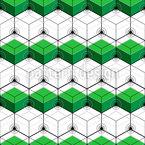 Isometrische Sechsecke Musterdesign