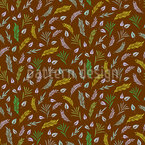 Dance Of Leaves Repeating Pattern