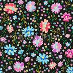 Wiesenflora Muster Design
