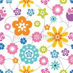 Blumenverbindungen Vektor Ornament