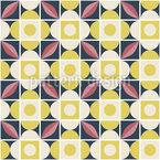 Cute Retro Mosaic Pattern Design