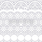 Alhambra White Pattern Design