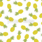 Painted Pineapples Pattern Design